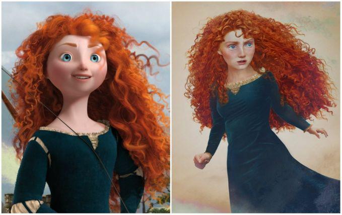 Merida, 'Brave'