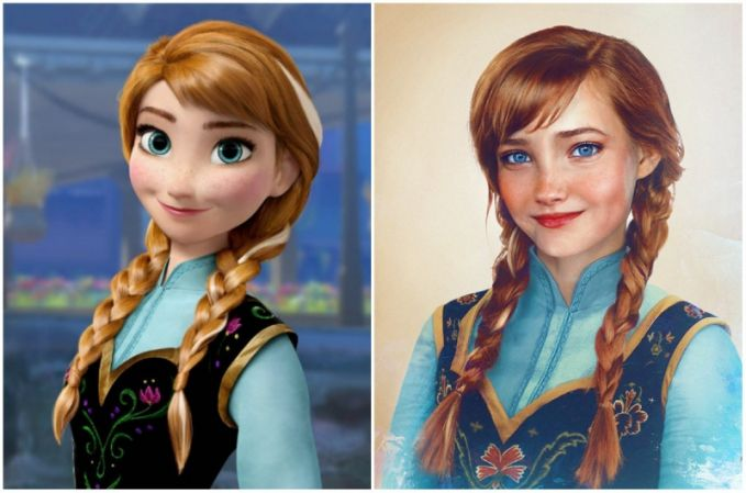 Anna, 'Frozen' Wah jadi makin cantik ya Pulsker! Yuk share ke saudara dan temen kamu yang suka banget nonton Disney.