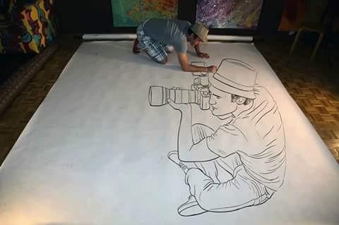 Hanya Berbekal Sebuah Pensil Seniman Ini Menciptakan Gambar 3