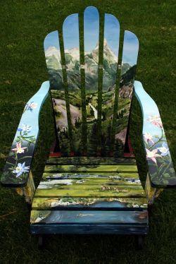 Kursi Kayu Membosankan Disulap Menjadi Karya Seni yang Cantik dan Indah!