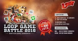 Loop Game Battle 2016! Clash Royale & Lets Get Rich Digelar di Surabaya & Medan