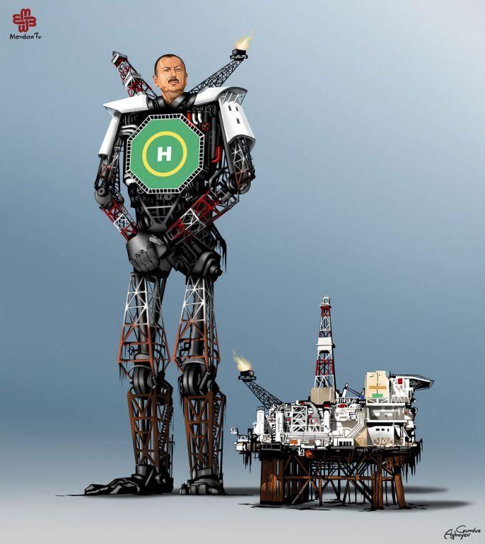 Presiden Azerbaijan, Ilham Aliyev Hmm menurut kamu kalo Donald Trump bakal kaya gimana ya Pulsker Transformernya? Kita tunggu aja yuk sambil share ke saudara dan temen kamu yang jago bikin ilustrasi.