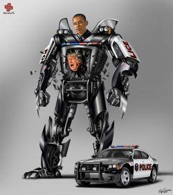 8 Pemimpin di Dunia Ini Diilustrasikan Sebagai Transformer