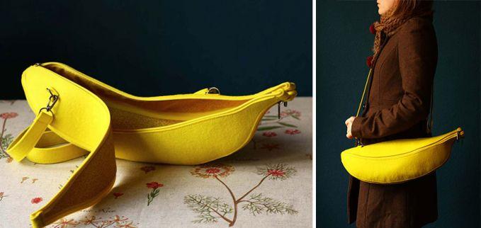 Tas berbentuk pisang.