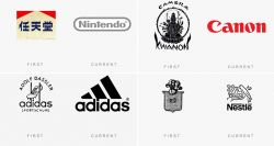 Ini Penampakan Perubahan Logo Terkenal Dunia Dulu Dan Sekarang