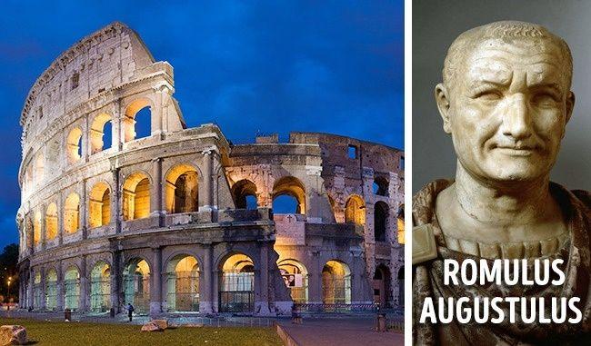 Sebuah nama khusus untuk Kekaisaran Romawi Kota Roma, dasar negara Romawi, didirikan menurut legenda oleh Romulus dan Remus. Romulus menjadi raja pertama Roma. Penguasa terakhir dari Kekaisaran Romawi Barat adalah Romulus Augustus, meskipun ia lahir sebagai Flavius Romulus Augustus. Namun demikian, dapat dikatakan bahwa salah satu kerajaan yang paling kuat dari dunia kuno mulai dan berakhir dengan nama Romulus.