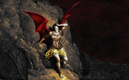 Lucifer (Raja dari Segala Raja Iblis) Licifer dikatakan sebagai iblis paling terkenal di dunia yang memiliki nama lain sebagai Satan. Lucifer sendiri sebelumnya adalah malaikat yang diusir dari surga karena menentang Tuhan dan dijatuhkan ke bumi. Lucifer sendiri awalnya merupakan malaikat yang paling dekat dengan Tuhan, tapi karena terlalu ingin berkuasa dan sombong, ia melakukan peperangan hingga malaikan Michael diutus Tuhan untuk mengusirnya.