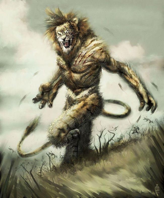 Si singa yang satu ini pun nampak garang. Sebagai sosok raja hutan sudah semestinya dia terlihat garang bagi hewan lainnya. Tak cuma di dunia nyata saja, sosoknya dalam zodiak pun begini jadinya jika digambarkan sebagai monster.