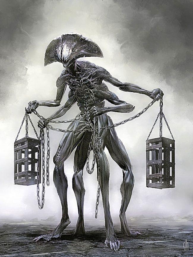 Zodiak yang ini agaknya berbeda dari yang lain ya pulsker yang kebanyakan mengambil dari makhluk hidup. Libra adalah zodiak yang digambarkan dengan timbangan. Dan beginilah ketika timbangan tersebut berubah menjadi sesosok monetr jahat. Awas nih pulsker bisa masuk ke perangkap si Libra ini.