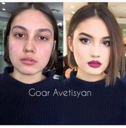 Bikin Takjub, 10 Cewek Ini Jadi Cantik Banget Hanya Dengan Makeup