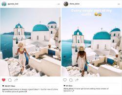 Wah, Artis Instagram Ini Punya Copycat yang Niru Sampe Mirip Banget!