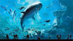 7 Akuarium Raksasa di Dunia dengan Eksotisme Alam Bawah Laut yang Menakjubkan