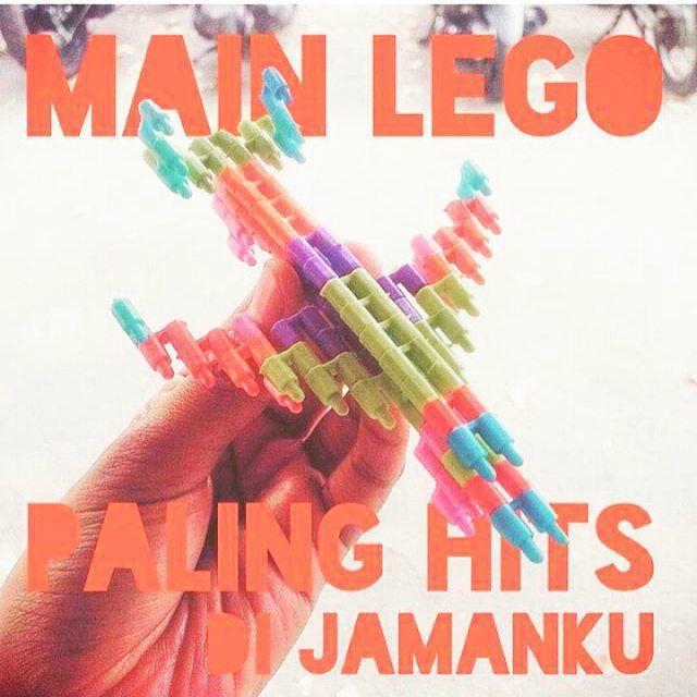 Legonya anak zaman dulu.