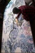 Bermodal Tinta Pena Seniman Jepang Ini Menciptakan Lukisan nan Menakjubkan dalam Waktu 3,5 Tahun