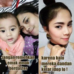 """14 Meme Foto """"Jangan Remehkan Emak Berdaster"""" Yang Lagi Trending Di Indonesia"""