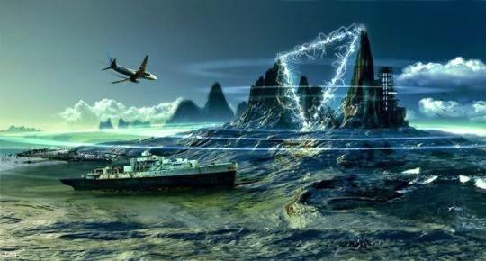 Lautan Iblis Lautan yang diyakini sebagian besar orang muslim adalah tempat dikurungnya dajjal.