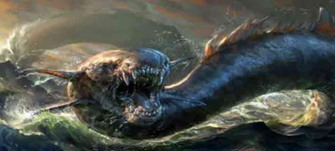Adanya Monster Laut Pada abad ke-16, seorang pelaut pernah membuat sebuah peta laut yang menjelaskan adanya seekor naga sedang menyerang kapal. Titik di mana naga tersebut tinggal merupakan kawasan Sargasso di Segitiga Bermuda. Tentang kepastian legenda itu hanya Tuhan yang tahu.