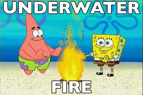 Kalau kalian sampai sekarang masih suka nonton SpongeBob, banyak banget episode yang kalau diingat lagi bikin kita tersenyum geli. Mereka ini ceritanya tinggal didasar laut, tapi bisa menyalakan api unggun. Lucu banget kan Pulsker.