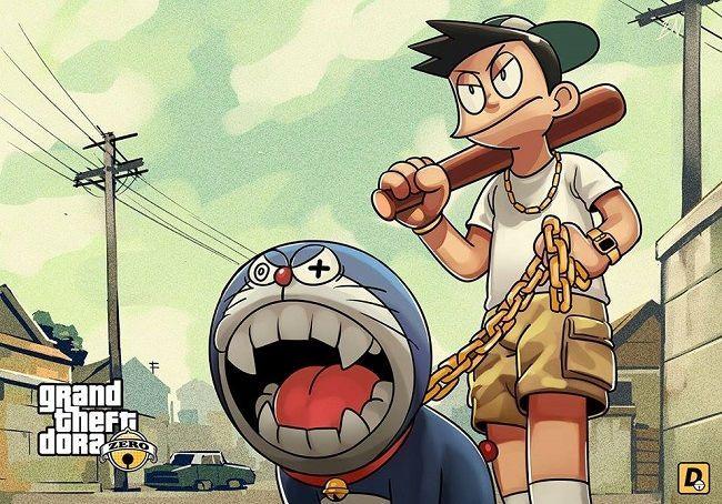 Transformasi Super Gokil Tokoh Kartun Doraemon Menjadi Karakter Film Komiknya