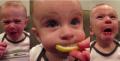 Gimana ya Ekspresi Bayi Saat Merasakan Asam? Inilah 12 Ekspresi Lucu Bayi Saat Mencicipi Lemon