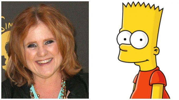 Pertama ada sosok Nancy Jean Cartwright yang menjadi pengisi suara di film The Simpson. Pada awalnya ia ingin mengisi suara Lisa Simpson. Namun, ketika ia tahu saat itu sedang dicari pengisi suara Bart Simpson, ia tertarik dan akhirnya menjadi pengisi suara Bart Simpson. Selain sebagai Bart, Nancy juga mengisi suara Charles Chuckie Finster, Jrm atau Chuckie di film Rugrats dan All Grown Up nih pulsker.