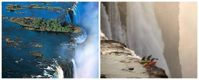 Berenang di kolam renang alami paing berbahaya di dunia. Pacu adrenalinmu untuk menjajal berenang di DevilPool yang terletak diatas tepi jurang air terjun Victoria, Africa. Yakin deh Pulsker, saat kamu berenang di sungai Zambezi ini kamu akan merasa berada diujung dunia.