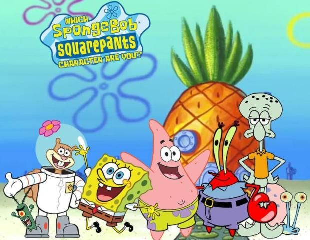 Spongebob Squarepants menceritakan tentang sponge yang hidup di dasar laut (bikini bottom) dengan teman-temannya yang lain.