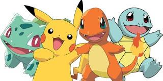 Pokemon, kartun animasi berbentuk hewan-hewan aneh yang memiliki kekuatan. Sampai-sampai ada gamenya juga lho.