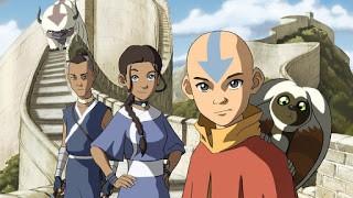 Avatar, yang memiliki 4 Elemen kekuatan. Elemen api, air, tanah, udara.