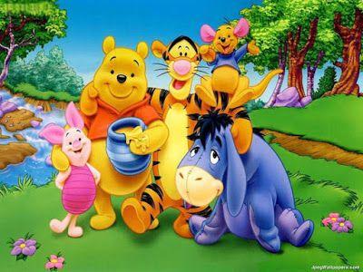 Siapa yang waktu kecil suka noton Winnie the pooh? Masih ingat jam tayangnya?