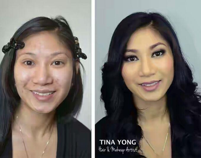 noda hitam pun dapat ditutupi dengan make up, asal bisa meng-aplikasikannya dengan benar ya.