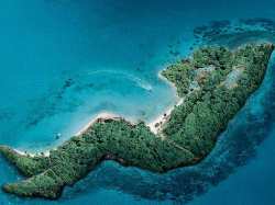 Pulau dengan Bentuk yang Tidak Biasa, Bisa Untuk Tujuan Liburan kamu