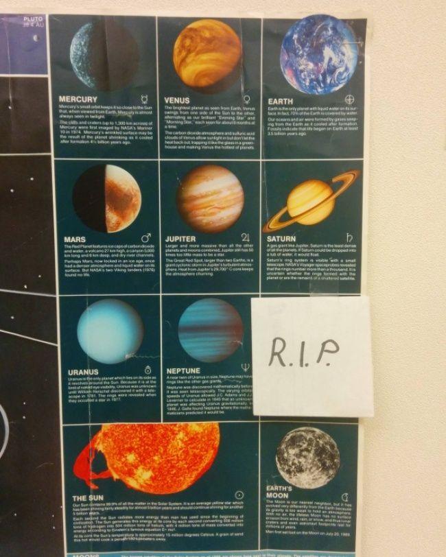 Ini yang dilakukan guru astronomi saat tahu Planet Pluto tidak ada di tata surya.