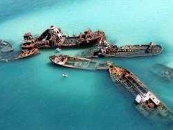9 Kapal Karam yang Kini Berubah Menjadi Destinasi Wisata Favorit Dunia