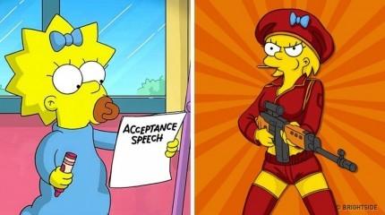Margaret Simpson Bisa lihat sendiri bagaimana jika Margaret Simpson yang ada di kartun The simpson jadi dewasa.