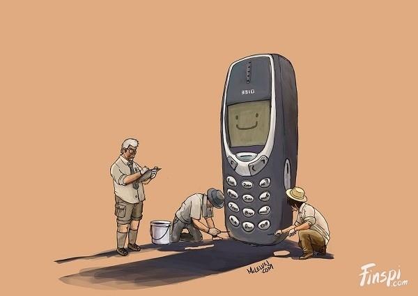 Nokia 3210/3310 Ponsel ini pernah hits dijamannnya. Kalau kamu ngaku ada ponsel yang bisa menandingi kekuatan fisiknya, kamu salah besar Pulsker. Soalnya ponsel ini pernah diuji dijatuhkan dari gedung lantai tiga, dipukul, dipalu bahkan istimewanya mampu menghentikan peluru. Dan masih bisa menyala. Buat kamu anak gaul 90an pasti pernah punya memori bersama hape ini.