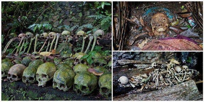 Kuburan Wangi Trunyan Bali, Indonesia Yang kedua ada di bali pulsker. Kuburan wangi trunyan sesuai dengan namanya kuburan ini memiliki wangi dari aroma pohon raksasa, Taru Menyan. Dan dikuburan ini mayatnya tidak dikubur dalam tanah tapi diletakkan begitu saja