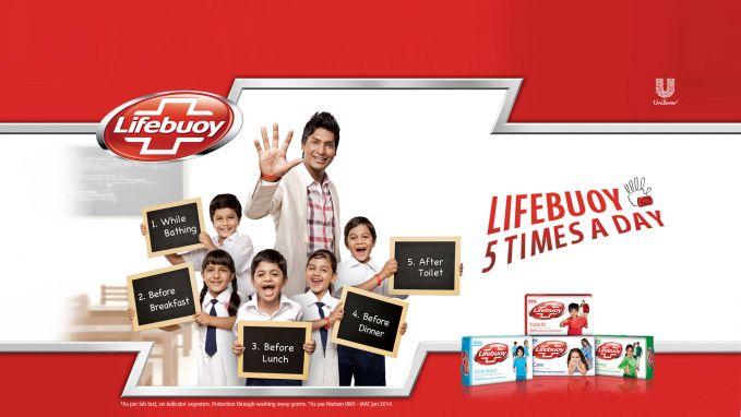 Lifebuoy Lifebuoy menduduki peringkat ke tiga dengan meraih Consumer Reach Points sebesar 2,6 juta. Produk sabun mandi ini selalu mengingatkan kita menjaga kebersihan terutama tubuh dan tangan. Merk sabun dirumahmu kah Pulsker? (gambar : unilever.com)