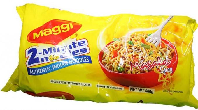 Maggie Maggie merupakan produk terlaris Nestle yang berhasil memperoleh Consumer Reach Points sebesar 2,4 juta. Merk ini memproduksi berbagai macam bahan makanana seperti kaldu ayam, mie isntan, saus dan sup isntan. (gambar : indianexpress.com)