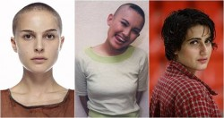 Demi Tututan Peran, 10 Artis Cantik Ini Rela Memangkas Habis Rambutnya