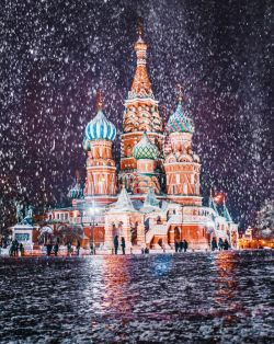 Seperti dalam Negeri Dongeng, Beginilah Keindahan Kota Moskow Saat Musim Dingin