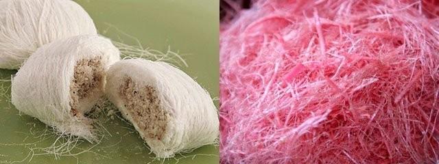 Kultarae dan Gulali Mirip sama gulali tapi lebih mirip lagi sama rambut nenek ya? bedanya kultarae memiliki isian kacang.