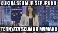 Kumpulan Meme Ira Koesno yang Bikin Gagal Fokus Saat Debat Cagub