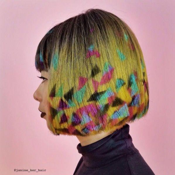 Buat kalian yang berambut pendek jangan khawatir. Juga ada kok pilihan model dan gaya rambutnya kalau ingin dibikin ala Stencil Hair.