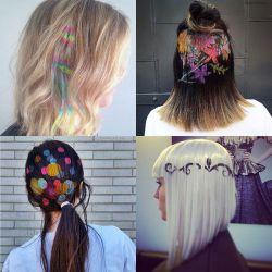 Stencil Hair, Tren Gaya Rambut yang Kece dan Kekinian