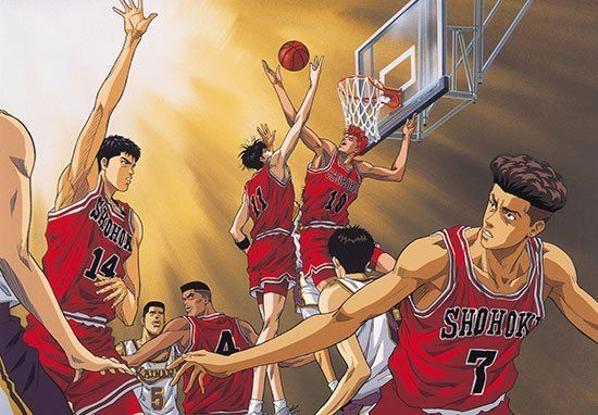 Slam Dunk - 120 juta Sesuai dengan judulnya, manga ini bercerita tentang siswa SMA yang sangat nakal, suka cari masalah dan pembuat onar bernama Hanamichi Sakuragi. Kehidupannya mulai berubah perlahan sejak ia bergabung di club basket di sekolahnya. Manga ini memberikan dampak besar bagi banyak sekolah di Jepang terutama untuk program basketnya.