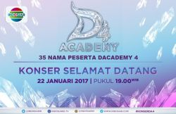 35 Nama Peserta DAcademy 4 Indosiar