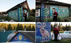 Luar Biasa, Wanita di Rusia Ini Menggunakan 30.000 Tutup Botol untuk Mendekorasi Rumahnya dan Lihat Hasilnya !