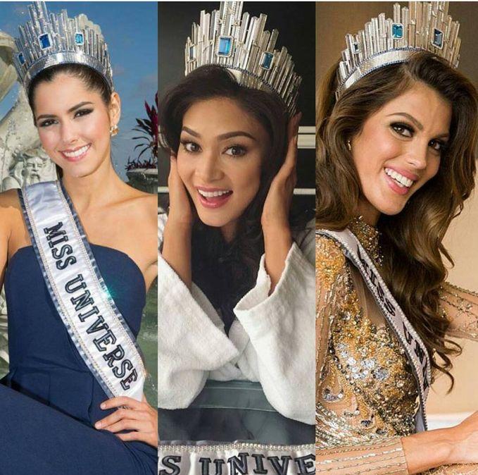 Di tahun 2014 lalu, mahkota Miss Universe kembali berubah bentuk lagi pulsker. Kali ini mahkotanya mengusung model futuristik terinpirasi dari langit kota Manhattan, rumah bagi Miss Universe Organization. Mahkota yang diklaim bernilai 300.000 dolar AS atau setara Rp 4 miliar ini mengusung pesan keindahan, stabilitas, kepercayaan diri dan kekuatan wanita di seluruh dunia. Paulina Vega asal Kolombia jadi Miss Universe pertama yang beruntung menggunakan model mahkota satu ini. Lalu dilanjutkan Miss Universe 2015 asal Filipina, Pia Wurtzbach dan kini digunakan oleh Iris Mittenaere asal Perancis yang baru saja kemarin dinobatkan sebagai Miss Universe 2016-2017. Sudah tahu kan sekarang sejarah mahkota Miss Universe?.