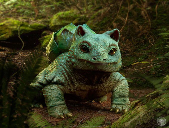 Coba tebak, kalau Bulbasur hidup di alam nyata kira-kira jadi hewan apa yang pas pulsker?. Memang sih dia mirip dengan seekor katak, tapi kalau dilihat lagi juga mirip kura-kura. Apa jangan-jangan gabungan keduanya ya?..